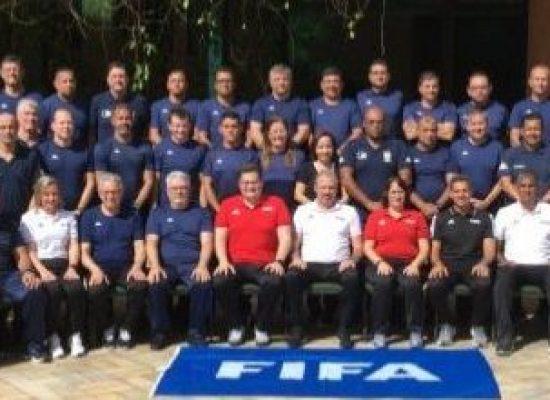 Membros da CEAF-BA participam do X Curso RAP-FIFA para Instrutores de Arbitragem