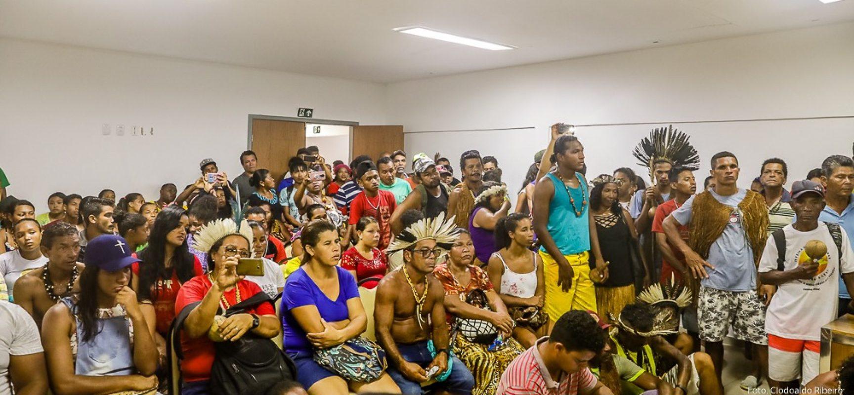 Município firma acordo com indígenas para melhoria de acessos das estradas