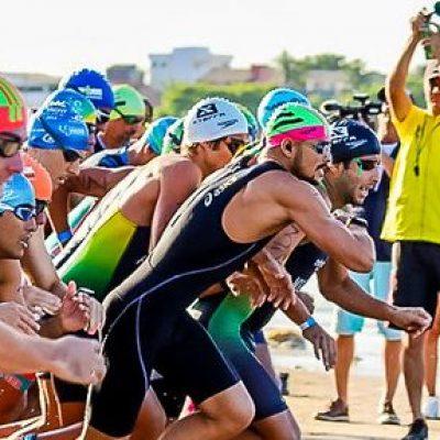 Triatletas se enfrentam pela terceira etapa do baiano em Ilhéus