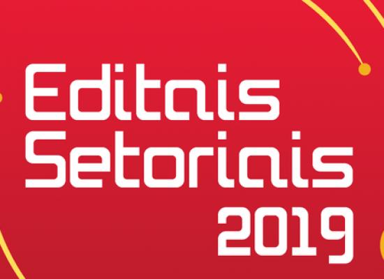 Últimos dias para apresentação de propostas nos 19 Editais Setoriais do FCBA 2019