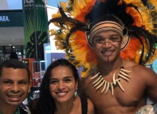 Aluno da APAE de Ilhéus participa de festival de arte em Manaus