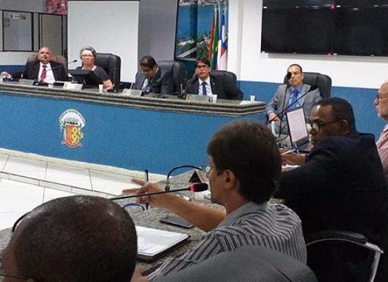 QUARTA-FEIRA, último dia de sessões da Câmara de Vereadores de Ilhéus