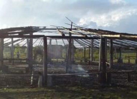 Centro de ritual pataxó na Bahia é incendiado