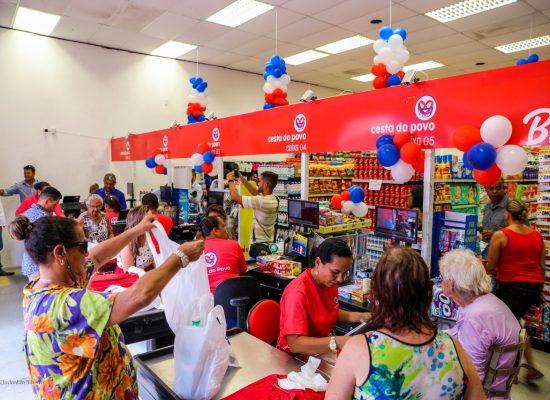 Cesta do Povo Supermercados inaugura em Ilhéus sua 46ª loja