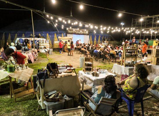 Feirinha Popular do TPI e Festival Sonora agitam a Tenda nesta sexta