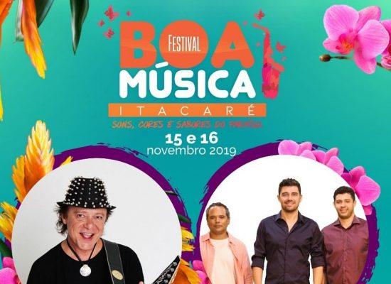 Festival Boa Música de Itacaré começa nesta sexta-feira