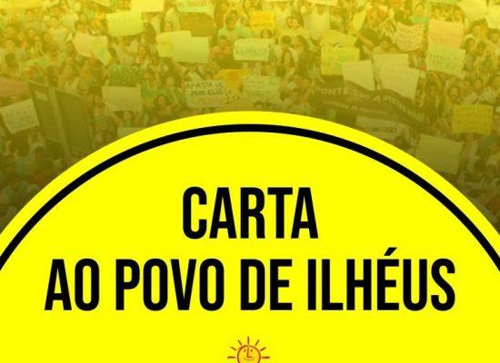 PSOL: Carta ao Povo de Ilhéus