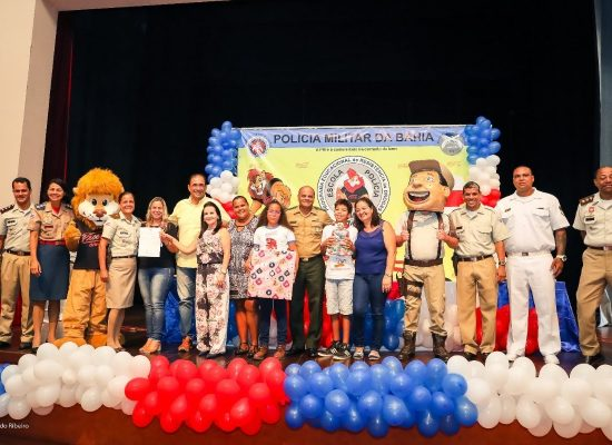Proerd realiza formatura para mil estudantes de escolas públicas de Ilhéus