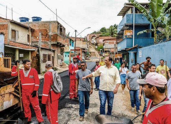 Programa Asfalto Legal já concluiu obras em 27 localidades de Ilhéus
