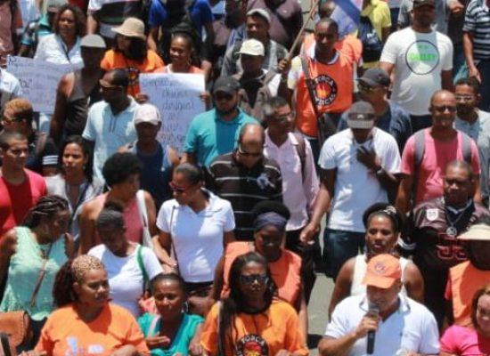 Sintepav BA realiza assembleia com os trabalhadores desempregados da construção pesada