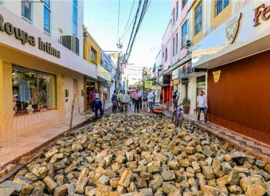 Assinada ordem de serviço para requalificação de ruas no centro de Ilhéus
