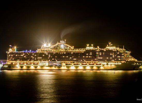 Cruzeiro Seaview pernoita em Ilhéus pela primeira vez e movimenta a cidade