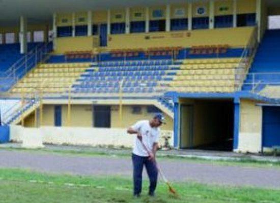 ILHÉUS: Estádio Mário Pessoa, ainda dependendo da aprovação de 4 (quatro) laudos técnicos, como exige a Federação Bahiana de Futebol