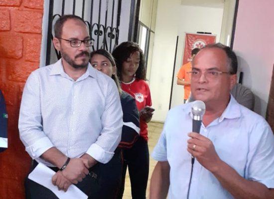 Ivo Evangelista participa de cerimônia de entrega de ambulâncias para o Samu