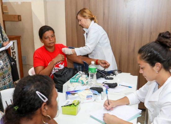 Mutirão leva serviços de saúde para mulheres de Ilhéus