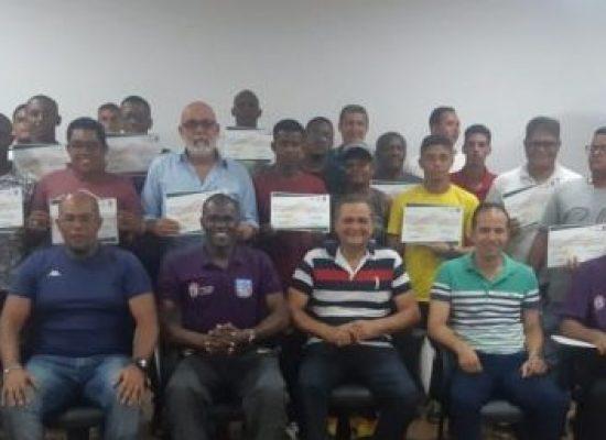FBF realiza curso de Formação e Reciclagem de Árbitros em Pojuca