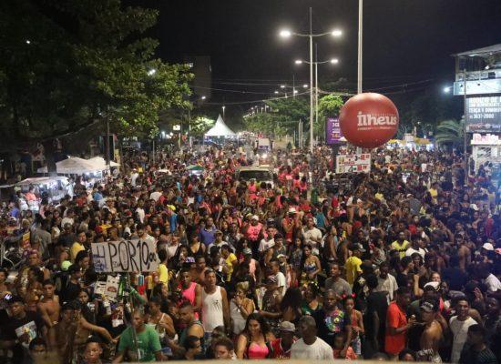 Folia tomou conta dos circuitos do Carnaval do Povo em Ilhéus