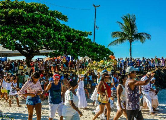 Ilhéus virou carnaval antecipado com festa de Iemanjá na Maramata e Litorânea Norte