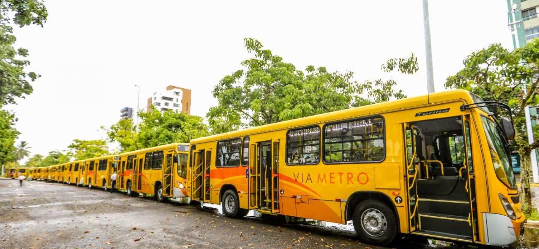Viametro antecipa a entrega de 10 novos ônibus para a cidade de Ilhéus