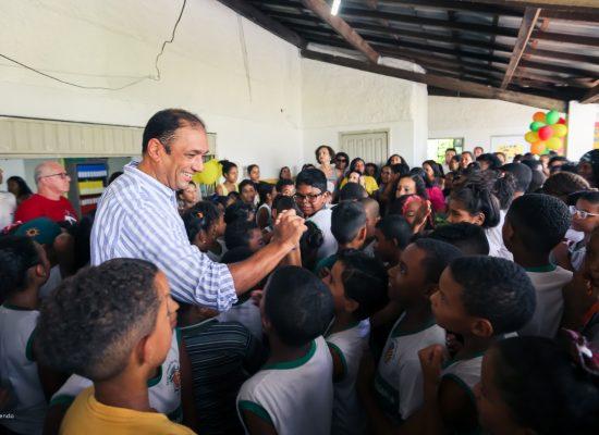 Assinada ordem de serviço para reforma da Escola Paulo Freire