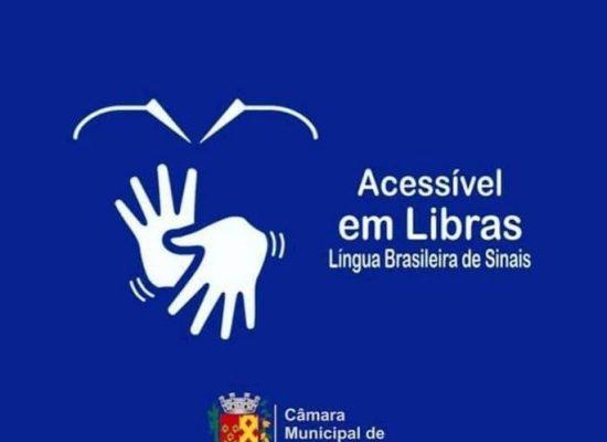 Câmara de Ilhéus é pioneira na região em realizar sessões com intérprete de Libras