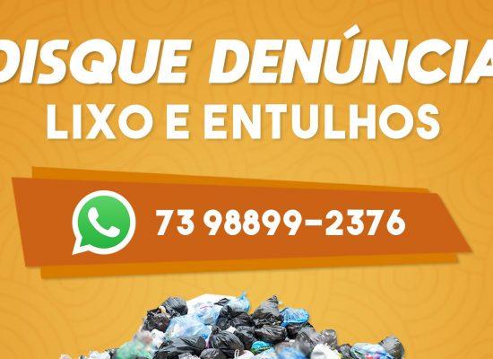 Disk denuncia de lixo e entulhos funciona com qualidade e eficiência em Ilhéus