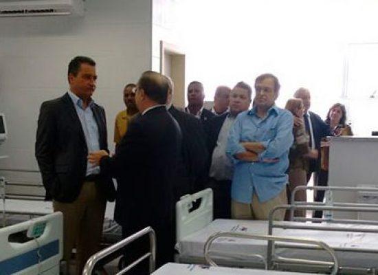 Nova unidade para pacientes com Covid-19 é aberta nesta sexta