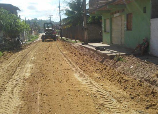 Recuperação das estradas vicinais do Retiro, Tibina e Aderno começa na próxima semana