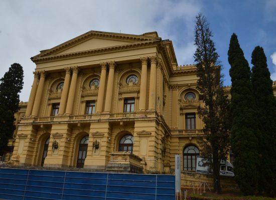 Apesar de pandemia, obras no Museu do Ipiranga seguem cronograma