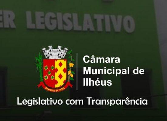 Câmara Municipal de Ilhéus fará sessões virtuais