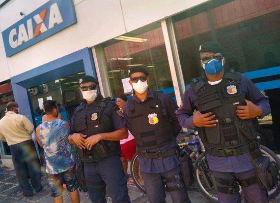 Guarda civil municipal de Ilhéus  reforça a luta contra o coronavírus