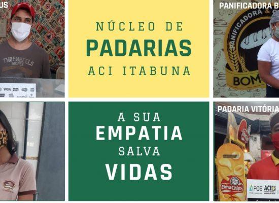 Panificadoras aderem a campanha de arrecadação de alimentos e de higiene em Itabuna