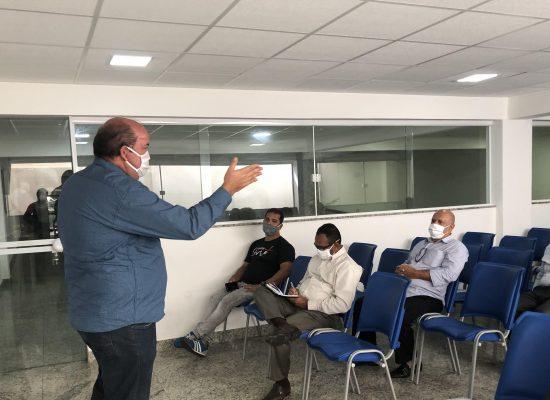 Cacá apresenta propostas para a Associação dos Ministros Evangélicos