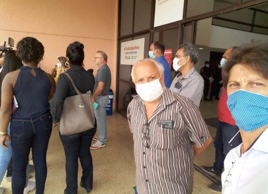 Comissão de Saúde da Câmara de Ilhéus acompanha o secretário Fábio Vilas-Boas em visita técnica