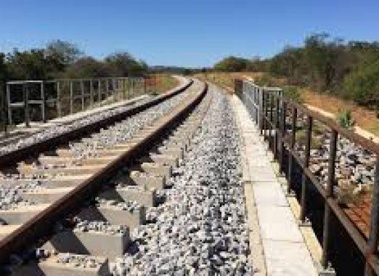 Ministro da Infraestrutura percorre obras da Ferrovia de Integração Oeste-Leste (Fiol), em São Desidério (BA)