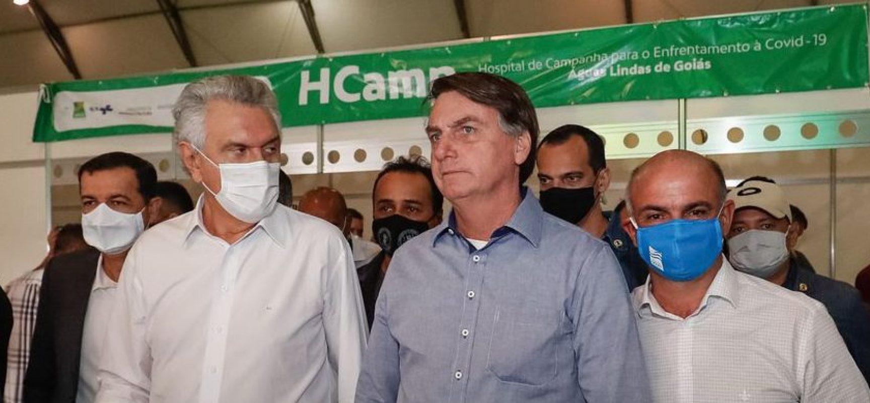 AGU recorre de decisão que determinou uso de máscara ao presidente