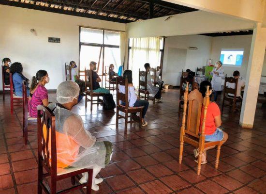 Funcionários do Abrigo S.  Vicente de Paulo receberam treinamento da UESC