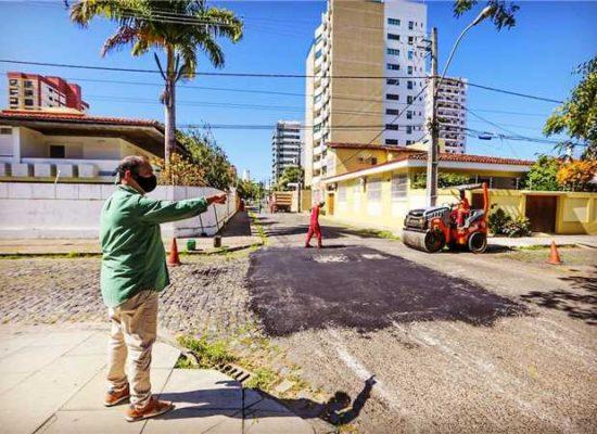 Prefeitura dá continuidade à operação tapa-buracos em diversos pontos de Ilhéus