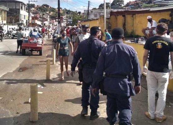 Prefeitura reforça fiscalização para garantir cumprimento de decreto durante pandemia