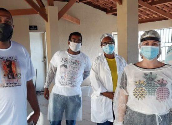 RESIDENCIAL VILELA: Vacinação contra sarampo atinge meta estabelecida pela Sesau