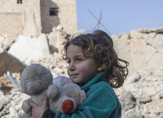Uma em cada seis crianças em todo o mundo vive em uma zona de conflito
