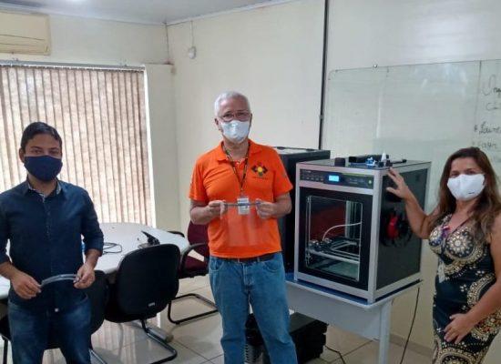 13ª Ciretran recebe doações de protetores faciais