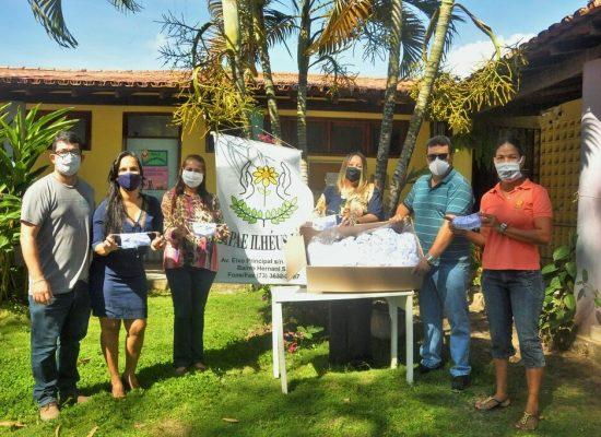 AIAM e HNB realizam doação de 1000 máscaras de proteção para a Apae de Ilhéus