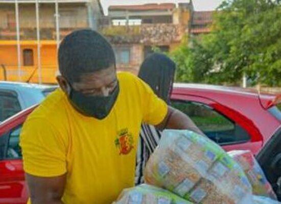 Cerca de 10 toneladas de alimentos foram arrecadadas na Live Solidária, informa Prefeitura de Ilhéus