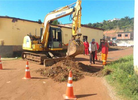 Iniciadas as obras de requalificação em vias do Vilela; cerca de 30 mil moradores serão beneficiados