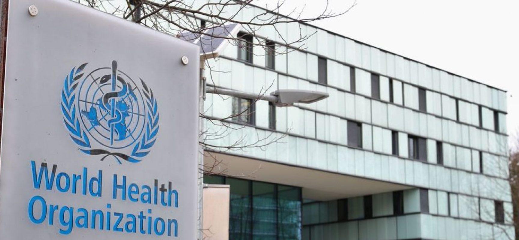 OMS pede que Brasil apoie suspensão de patentes de vacinas