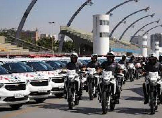 Policiais militares de SP vão usar câmeras nas fardas, diz Doria