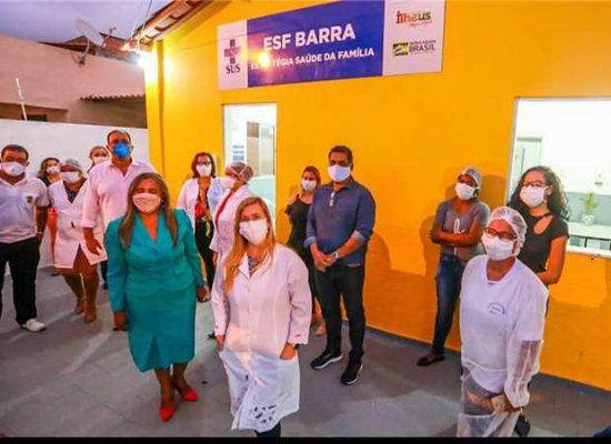 Prefeito de Ilhéus entrega Estratégia Saúde da Família à comunidade da Barra de Itaípe