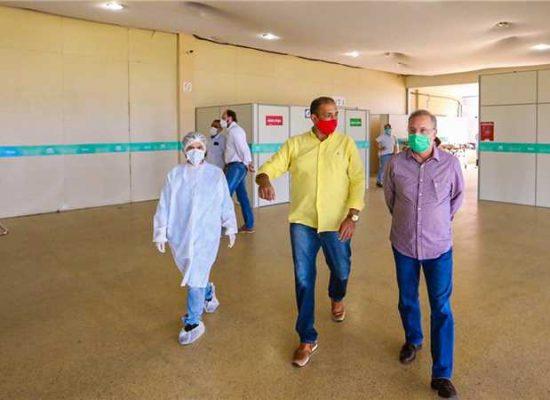 Prefeito Mário Alexandre e Secretário Fábio Vilas-Boas implantam novos leitos de UTI em Ilhéus
