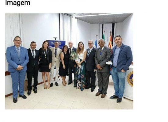 Rotary Club de Ilhéus realizou posse da nova diretoria com transmissão on-line